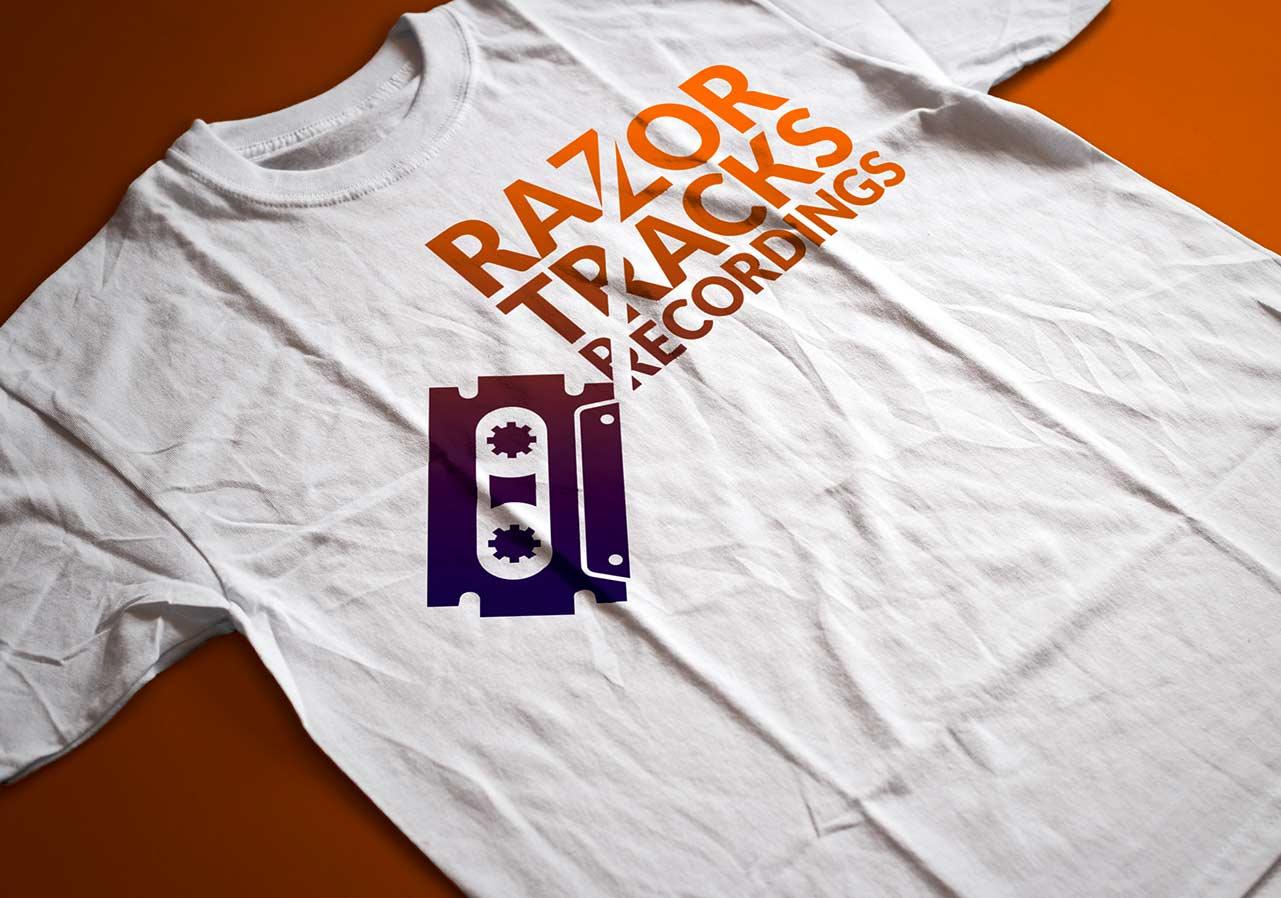 logo recording studio tshirt