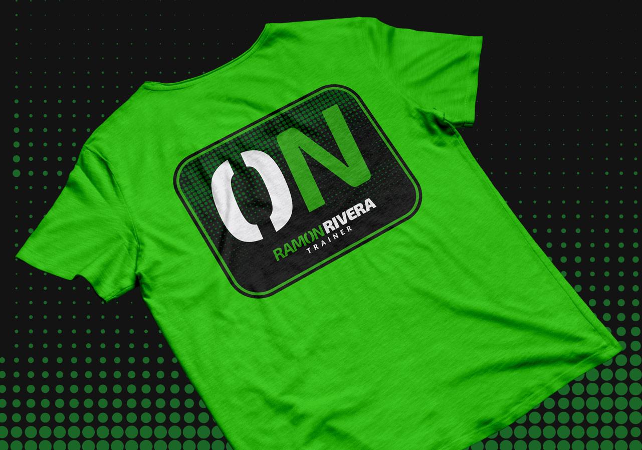 logo personal trainer tshirt 2