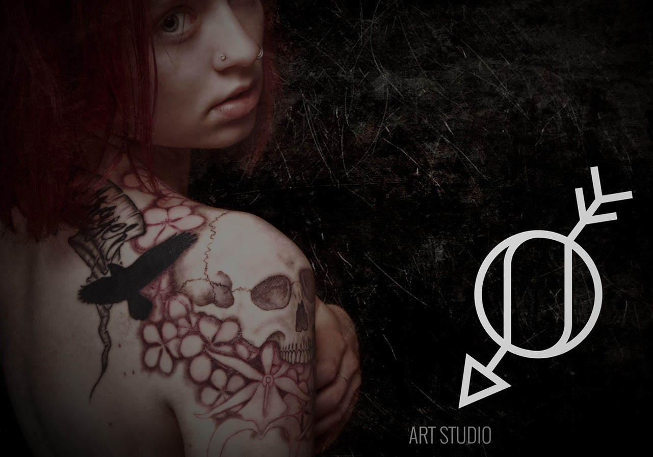 logo tattoo studio 3