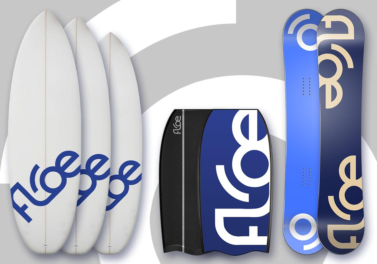 logo arctic surf bodyboard snowboard